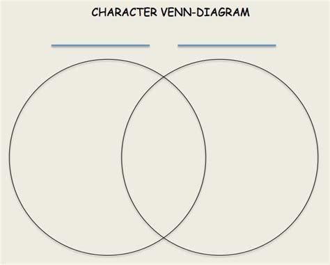 venn diagram characters character venn diagram character comparison worksheet