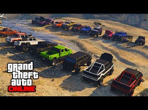 redneck 4x4 truck show/contest! || gta 5 online || pc
