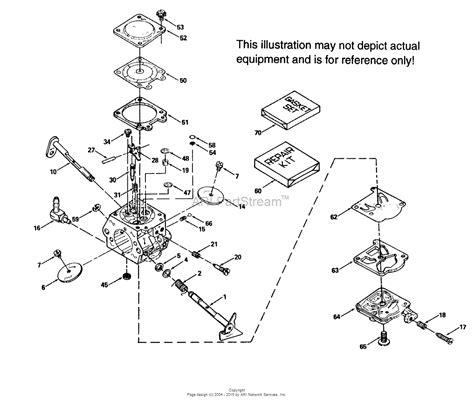 tecumseh ca 632414 parts diagram for carburetor
