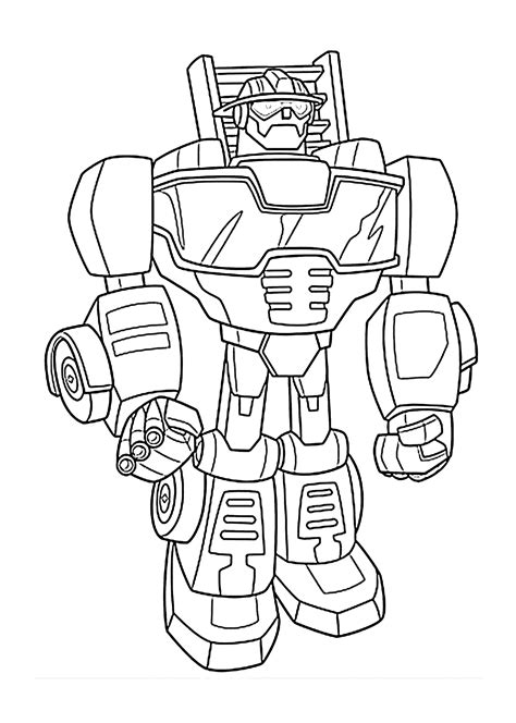 rescue bots coloring pages heatwave bot coloring pages for printable free