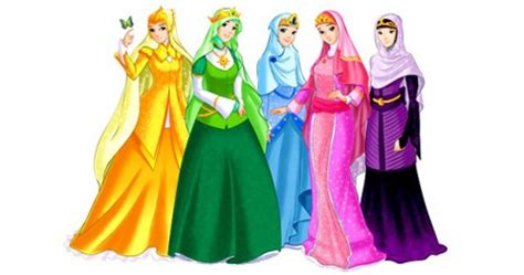 Princess Hijabb hijabi princesses disney revisioned fashion