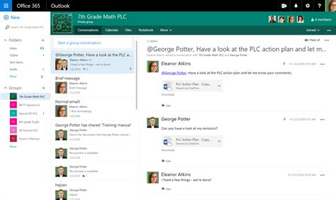 office for groups professional learning community groups in office 365