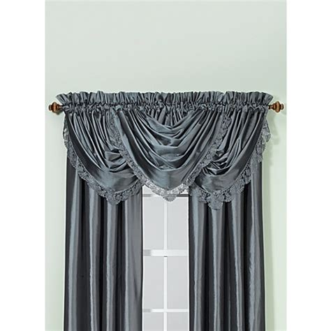 bed bath and beyond argentina curtains argentina rod pocket window curtain panel bed bath beyond