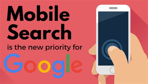 search mobile is splitting its search index prioritizing mobile