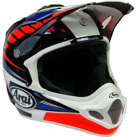 arai motocross helmets 2017 arai mx v motocross helmet rumble puremx
