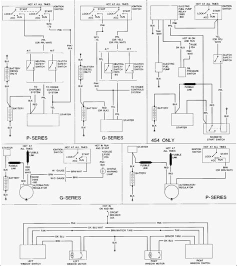 1987 chevy truck alternator wiring diagram wiring