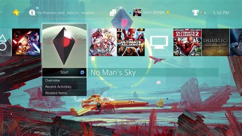 themes are limited to no man s sky limited edition playstation 4 dynamic theme