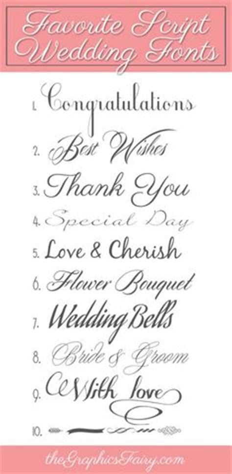 Free Wedding Fonts Uk by 10 Free Wedding Fonts For Diy Invitations Found At Http