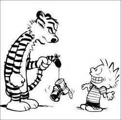 Calvin And Hobbes Coloring Pages coloring pages calvin and hobbes picture 6