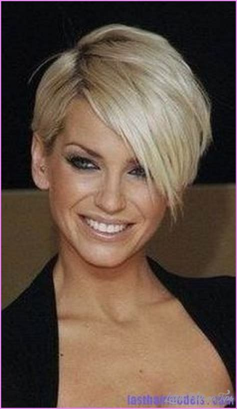 Sarah harding short hair   LatestFashionTips.com