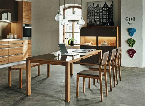Wooden Dining Room Furniture Wooden Furniture In A Contemporary Setting