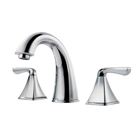 shop pfister selia polished chrome 2 handle widespread