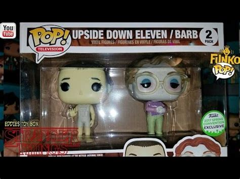 Funko Pop Things Eleven Barb Eccc Exclusive things eleven and barb eccc exclusive funko pop 2 pack review