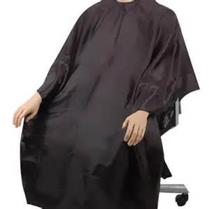 hair cutting gown hair salon barbers cape black ebay