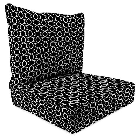Sears Patio Furniture Cushions Manufacturing 2 Seat Chair Cushion In Titan Onyx At Sears