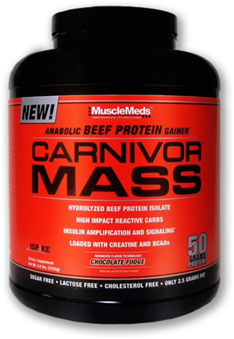 Carnivour Whey Carnivor Mass By Musclemeds At Bodybuilding Best