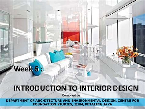 interior design introduction ibe interiordesign