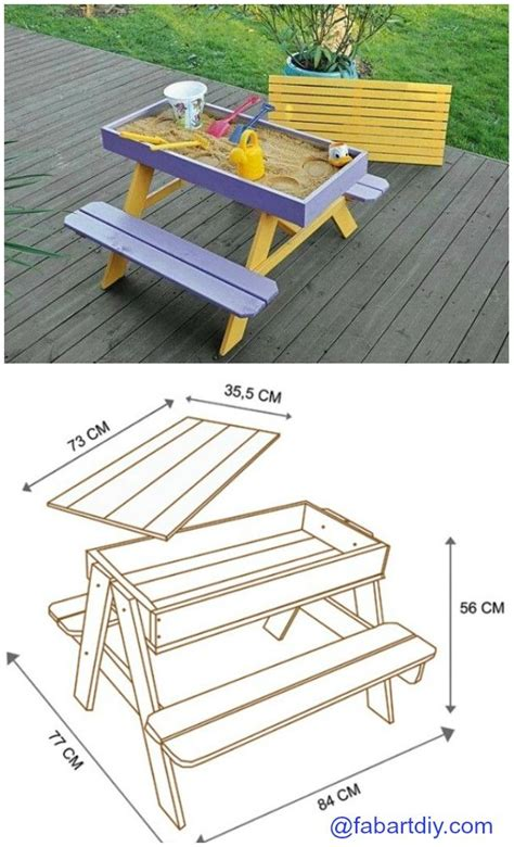 picnic table sandbox 17 best ideas about picnic tables on diy picnic table patio lighting and rustic
