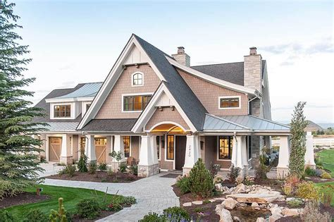 contemporary craftsman homes luxury contemporary craftsman home with amazing landing