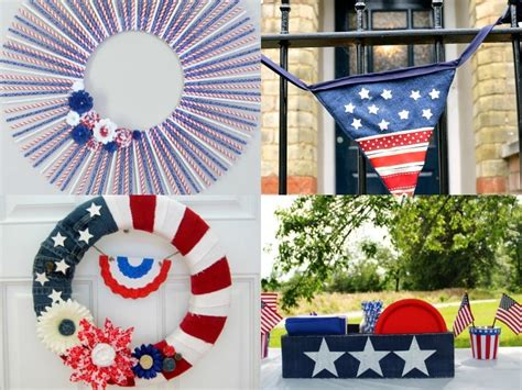 Patriotic Decor For Home 15 Diy Patriotic Home Decor Ideas Mm 158 Domestically Creative