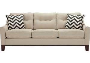 Cindy Sofa Cindy Crawford Home Hadly Beige Sofa Sofas Beige