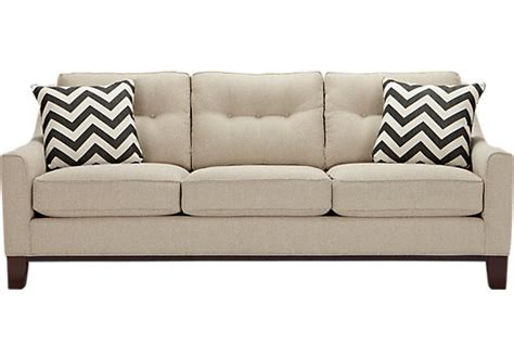 cindy crawford home sofa cindy crawford home hadly beige sofa sofas beige