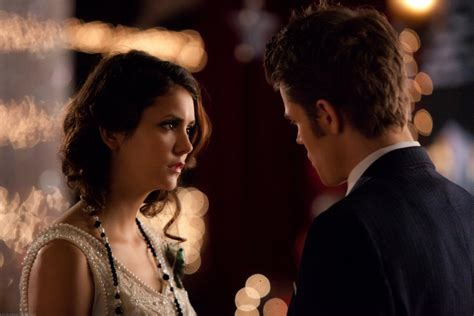 dobrev as and paul wesley as stefan on the