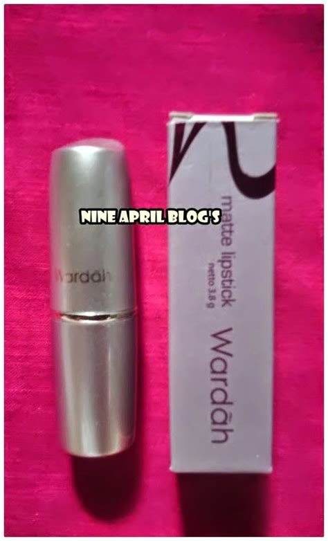 Harga Wardah Lip No 18 review wardah matte rosy pink no 18 nine april