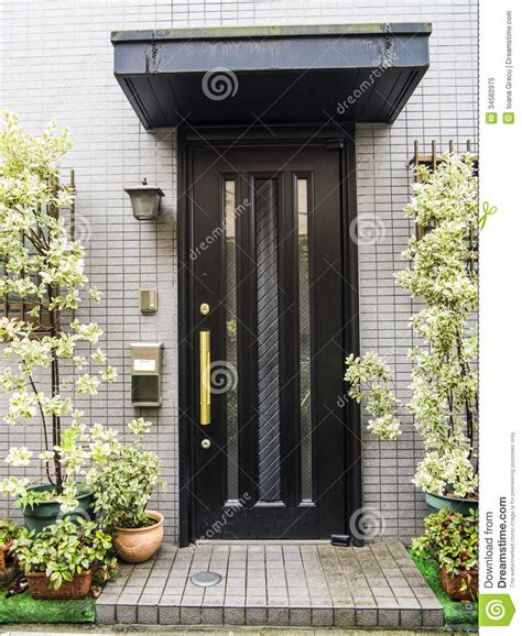 japanese glass front door stock image image of building welcome home