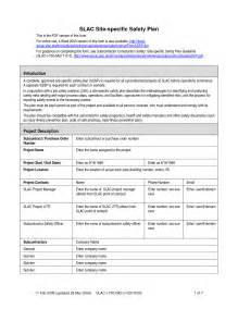 Building Site Plan Template by Safety Plan Template Cyberuse