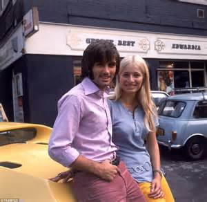 george best girlfriends george best away 10 years ago as manchester