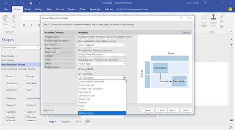 Visio Data Visualizer Template Visio Data Visualizer Part 1 Youtube