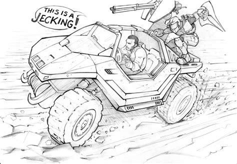 halo warthog drawing grand theft auto halo by patrickbrown on deviantart