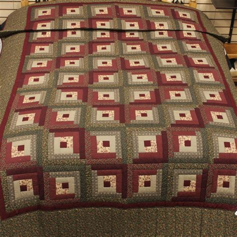 Log Cabin Quilt by Log Cabin Quilt Log Cabin Quilt Family Farm Quilts Of Shady Maple