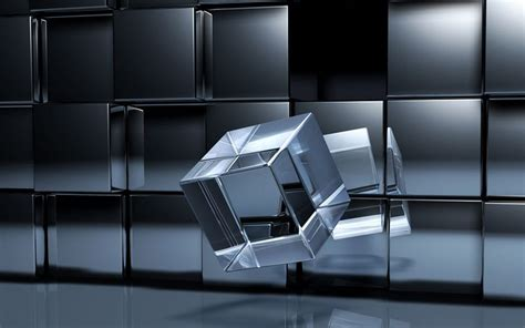 wallpaper 3d cube wallpapers crystal cube wallpapers