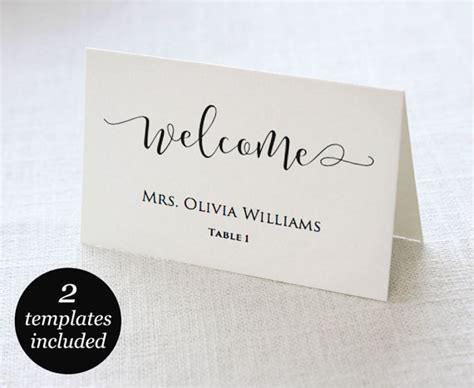celebrate it place card template wedding place cards wedding place card printable place card