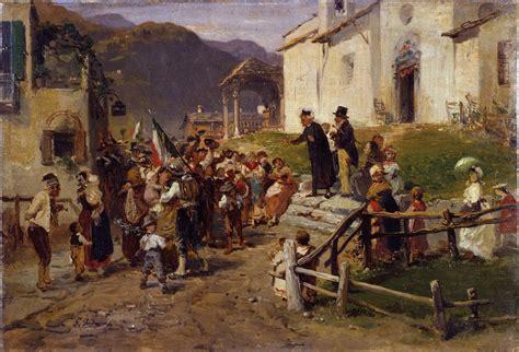 popolare provinciale lecchese l italia unitaria 23 capolavori della pittura dell 800