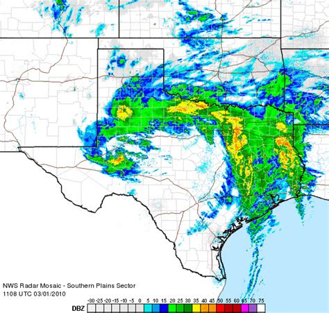radar weather map texas nws wfo lubbock 2010 weather event page
