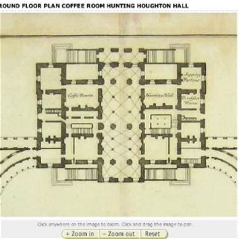 houghton hall floor plan houghton hall king s lynn norfolk england 1
