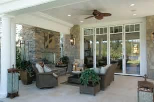 Rear Porch luxury house plan rear porch photo plan 071s 0002 house