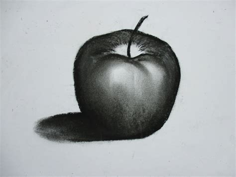 Imagenes Para Dibujar A Lapiz Carboncillo | 191 c 211 mo dibujar una manzana con carboncillo youtube