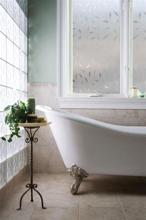 bathroom privacy window film have a window in the bathroom that needs covering try