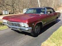 1965 impala specs, colors, facts, history, and performance