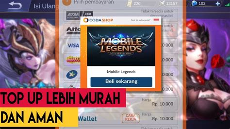 mobile legends top up cara atasi gagal top up di mobile legends