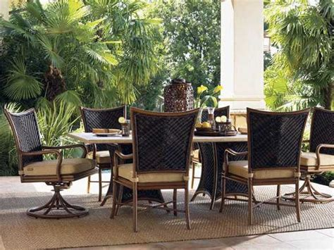 bahama outdoor dining set bahama outdoor island estate lanai wicker dining set