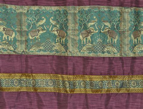 silk curtain fabric india indian curtain fabric silk elephant jacquard living room