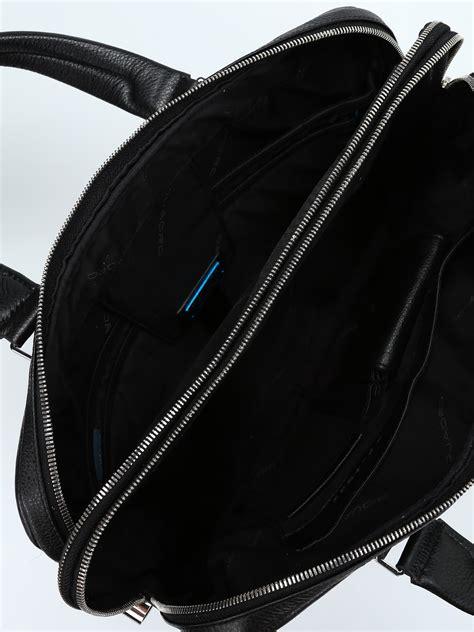borsa da ufficio borsa da ufficio in pelle a grana piquadro borse da