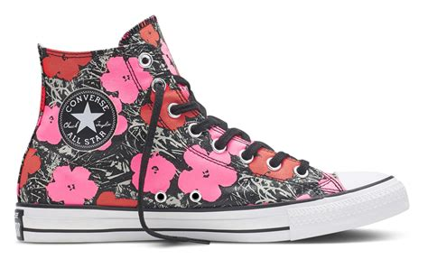 Harga Converse Andy Warhol converse chuck andy warhol collaboration quot cow quot quot flowers quot genmuda