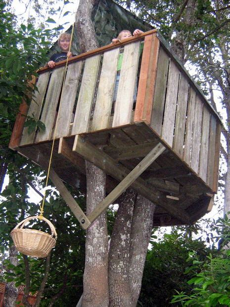 Diy Treehouse Plans Plans How To Build A Treehouse