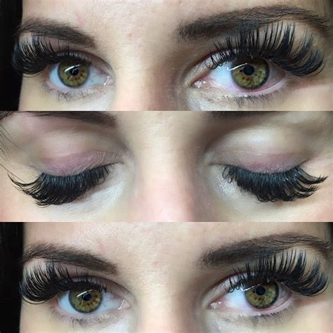Lash For Eyelash Extension before and after photos chicago lashes